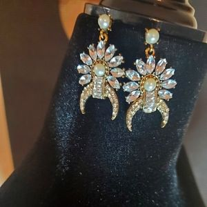 Earings - glamorous costume jewelry